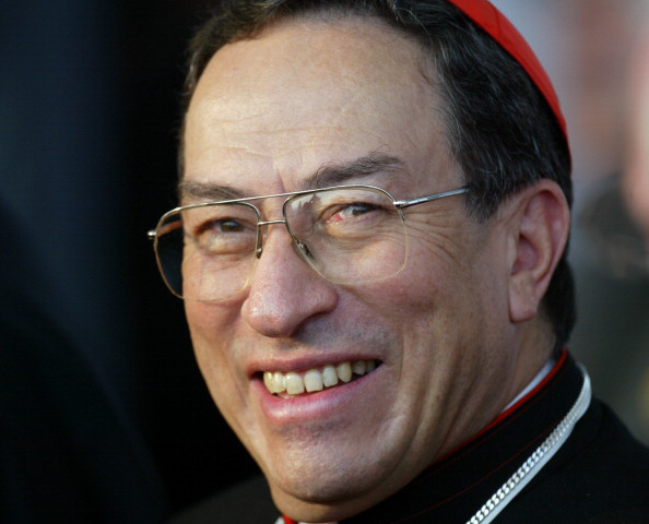 (FILES) Cardinal Oscar Rodriguez Maradiaga from Honduras poses in Toronto, 27 July 2002, during the 17th World Youth Day. Pope Benedict XVI will visit Mexico on March 23, 2012 before going on to Cuba, where he will celebrate mass in the same square visited in 1998 by his charismatic predecessor, John Paul II.  AFP PHOTO/GABRIEL BOUYS (Photo credit should read GABRIEL BOUYS/AFP/Getty Images)